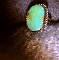 Sterling silver turquoise ring La Mirada, 90638