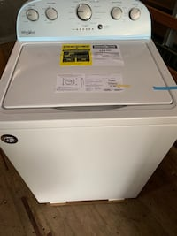 White top-load clothes washer New Brunswick, 08901