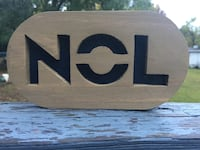 NOL Wood Sign w/hanger or magnets  Birmingham, 35215
