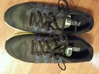 pair of black-and-blue Nike running shoes Shawnee, 66203
