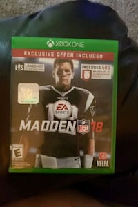 Madden xbox one video game Clifton Park, 12065