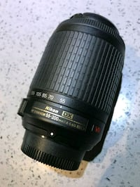 New Nikkor 55-200 mm VR Zoom lens  Toronto, M2R 1N1