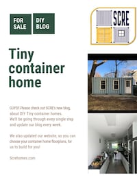 Tiny container homes