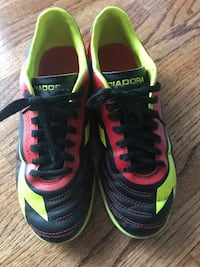 Indoor soccer shoes- boys size 4.5