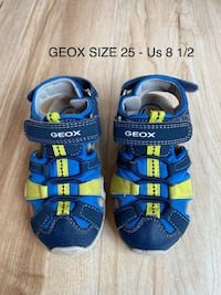 GEOX sandals size 8,5