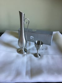 Brand New pewter long carafe with a cup Vaudreuil-Dorion, J7V 7W9