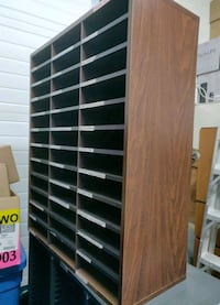 Document Filing stands x3