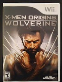 X-Men Origins Wolverine for Nintendo Wii  Vaughan, L4L