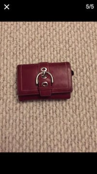 Authentic coach wallet Alexandria, 22312
