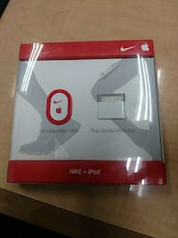white and red nike + ipod device in box Rockville, 20850