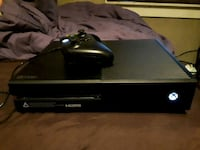 black Xbox One console with controller Port Colborne, L3K 5A4