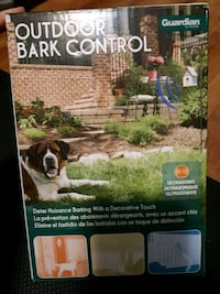 Outdoor bark control -new Thorold