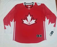ADIDAS TEAM CANADA OLYMPICS JERSEY 2016 Mississauga