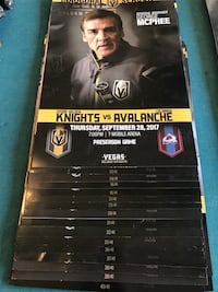 Vgk inaugural first season  North Las Vegas, 89031