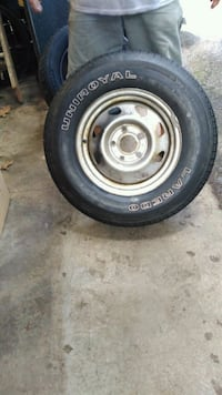 S10 rim and tire. 235 /70 /15 Knoxville, 37923