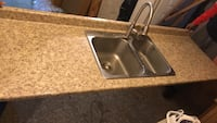 stainless steel sink with faucet 541 km