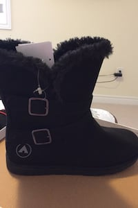 Black boots ladies size 10 Brampton, L6Y 6G8