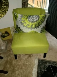yellow and green floral armchair Alexandria, 22315