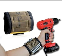 Black and red cordless power drill Calgary, T3P 0R7