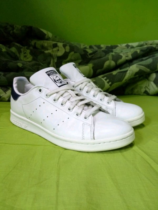 USED Adidas Stan Smith Navy Blue (Mens) 87870f53-c32d-410f-ad99-eb838f227300