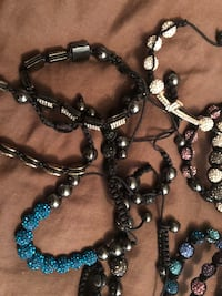Bracelets (20 in total) Vaughan, L4L