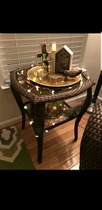 glass top table design for outdoor.!  Montclair, 22025