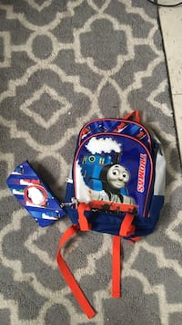 Blue and red thomas the train graphic backpack Montréal, H3C