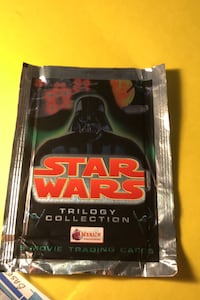 1997 Star Wars pack of movie cards