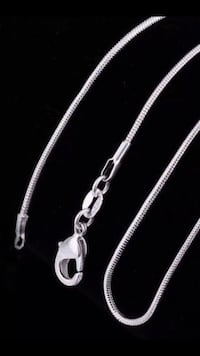 Brand New Italian 925 Sterling Silver Elegant Chain Necklace Phoenix, 85016
