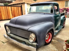 "For sale or Trade (newer car) - 56 Ford F100 ""Bomb-Shell"""