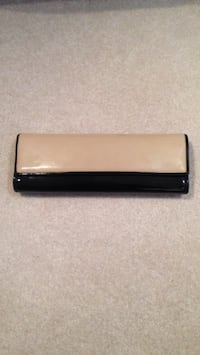 Clutch Purse - Black & Beige Edmonton