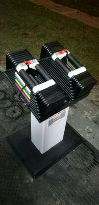 Powerblock 2.5-90 pound dumbbells with stand Newport News, 23606
