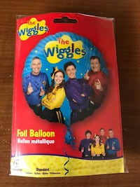 The Wiggles Foil Balloon - Purchased from Australia - EUC Toronto