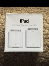 iPad camera connection kit box