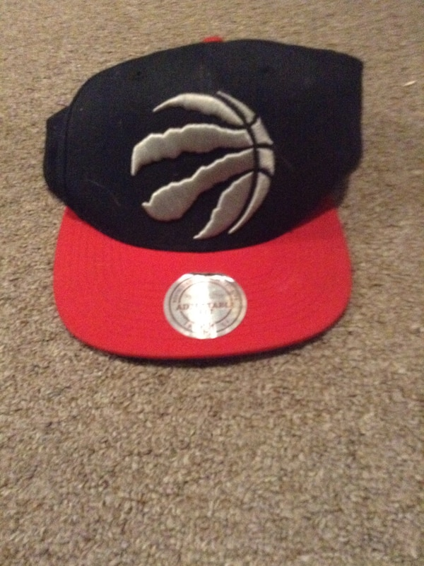 f30ed6261e4337 Used black and red Toronto Raptors snapback cap for sale in Hamilton ...