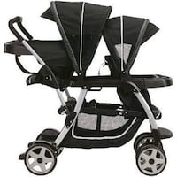 LIKE NEW Graco Click Connect Double Tandem Stroller Los Angeles, 91304