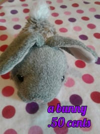 gray and white animal plush toy 3134 km