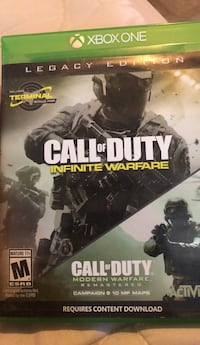 Call of duty infinite warfare (legacy edition) Peterborough, K9H 5L3