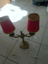 One red table lamp 773 km
