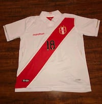 Perú 2019 Jersey Carrillo size Large Alexandria, 22310