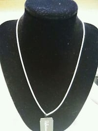 silver-colored necklace with pendant Sunnyvale, 94086