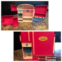 Shopkins Fridge with removable drawers and eggs  Fort Wayne, 46825