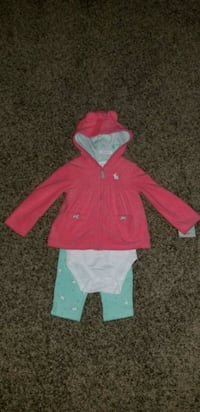 18 mths 3pc outfit - New with tags Surrey, V3S 7J5