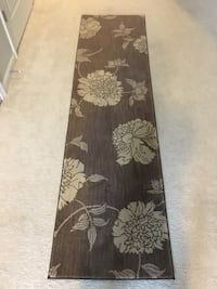 Runner - Brown and Cream floral rug Severn, 21144