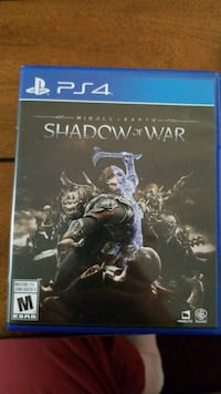 Sony PS4 Shadow of war  Vaughan, L4L 9H6