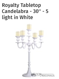 Candelabras for Rent Brampton, L7A 3P2