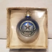 Cowboy's Ornament Sports Collectibles.  Forney, 75126