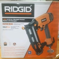 Ridgid 2.5 straight Finish Nailer (16 gauge) Pittsburg, 94565