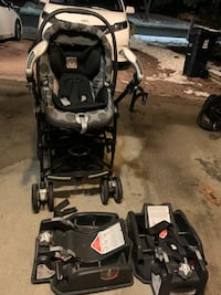 Baby stroller .peg perego selling as it is  Toronto, M1V 4M6