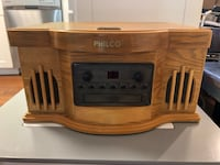 Philco Stereo CD Player with cassette player and turntable Wilmington, 19802